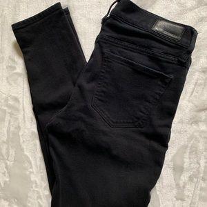 Express Mid Rise Legging Wm Jeans
